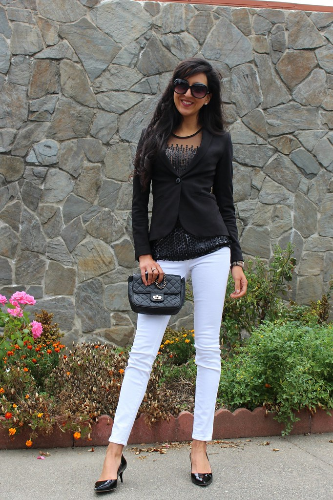 Black, white, Sequins (Wear to Work) 1