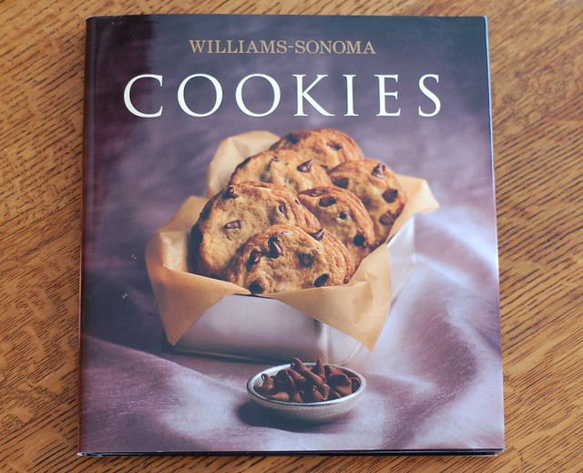 Williams-Sonoma's Cookies cookbook by Eve Fox, The Garden of Eating, copyright 2015