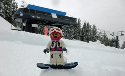 LEGO Collectible Minifigures Series 3 : Snowboarder