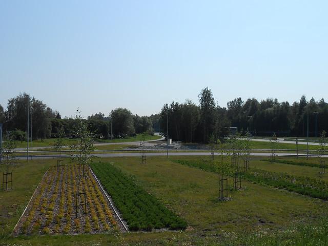 Hämeenlinnan moottoritiekate ja Goodman-kauppakeskus: Työmaatilanne 4.8.2014 - kuva 18