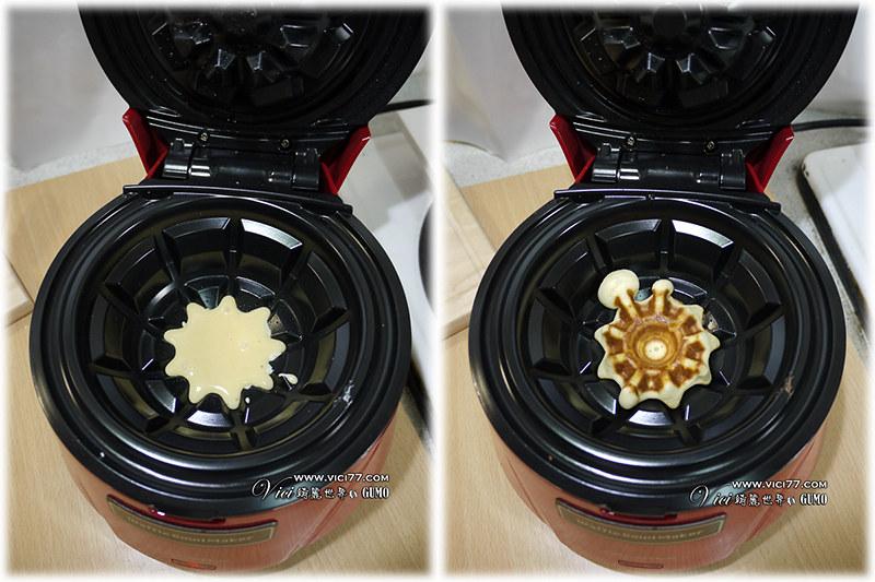 Waffle Bowl 杯子鬆餅機013