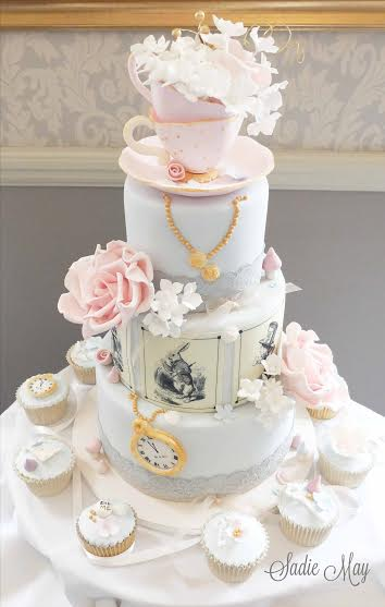 Wedding Cake by Sharon of Sadie May Cakes