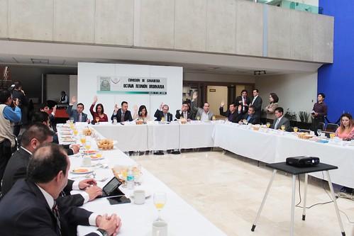 El día 7 de julio del 2016 se llevó a cabo en la H. Cámara de Diputados la octava reunión de Ganadería.