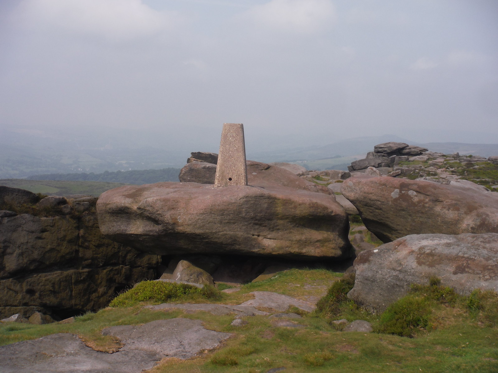 Trigpoint on Cowper Stone