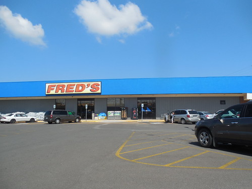 retail shopping store freds
