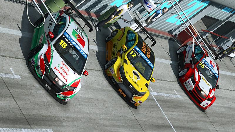 RaceRoom Racing Experience WTCC Cars