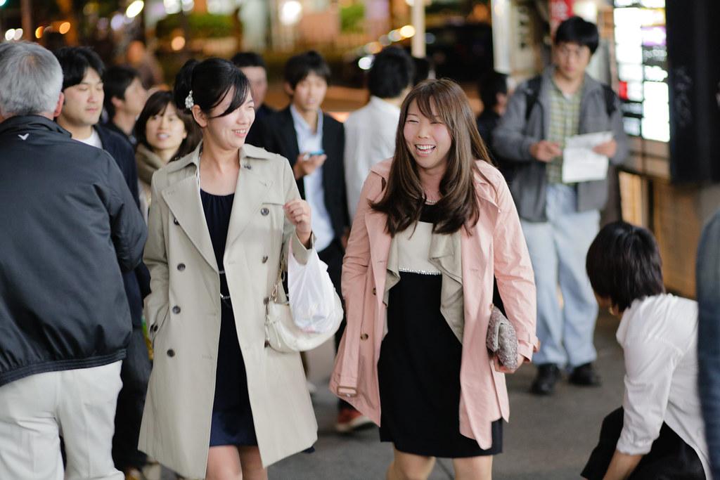 Sonezaki 2 Chome, Osaka-shi, Kita-ku, Osaka Prefecture, Japan, 0.013 sec (1/80), f/2.0, 85 mm, EF85mm f/1.8 USM