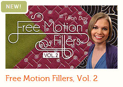 free motion fillers volume 2 with leah day at craftsy