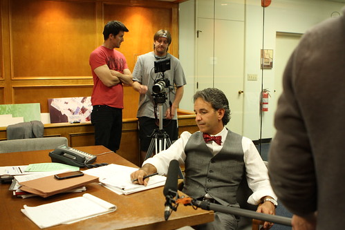 "Indie City Production Stills: ""Assessing the shot"""
