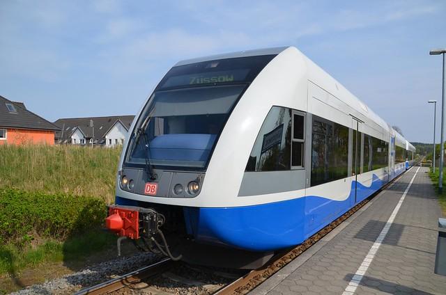 UBB-Triebwagen in Kölpinsee