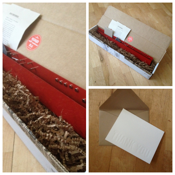 Quarertly Co., Subscription box, Tina Roth Eisenburg, letters