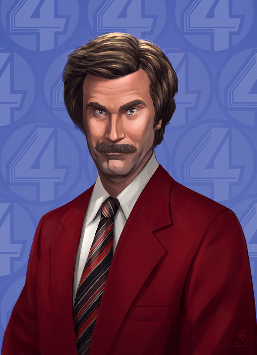 'Anchorman 2' - Patrick Brown