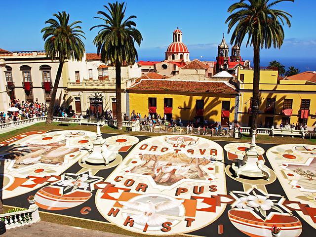 Corpus Christi Sand Tapestry, La Orotava, Tenerife