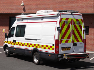 South Yorkshire Fire & Rescue Service Iveco Daily Detection, Identification & Monitoring Unit