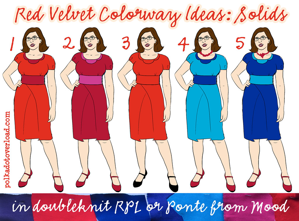 Red Velvet Dress Color Ideas 2