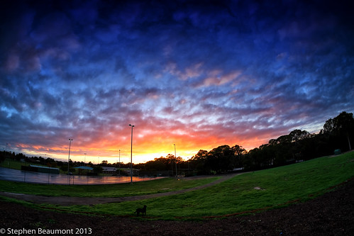 morning sunrise landscape fisheye 365project