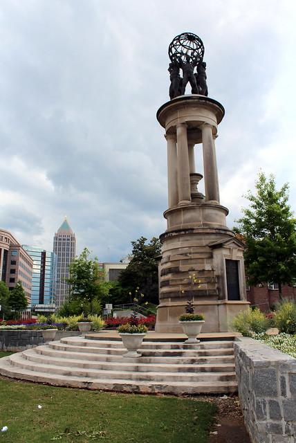 Atlanta Midtown World Athlete S Monument The World