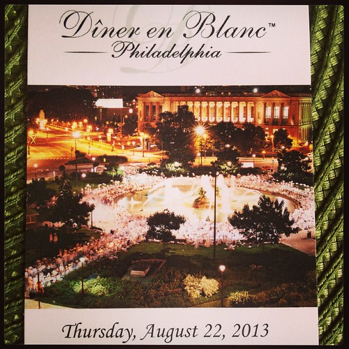Diner en Blanc preview party