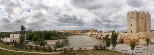puente,romano,córdoba,panorámica,fotografia