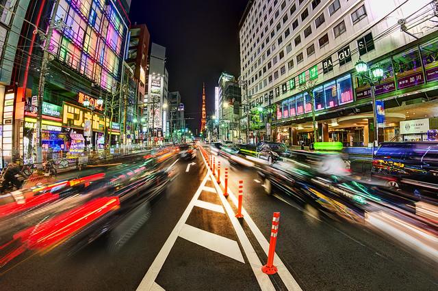 Wild Tokyo Streets