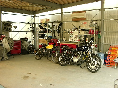 Motorcycle Garage