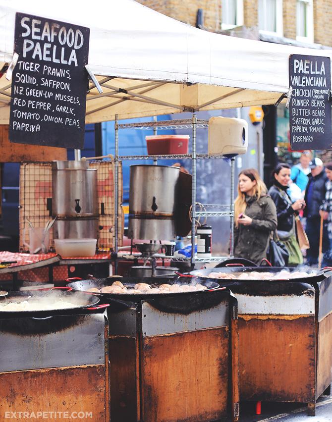 portobello market paella
