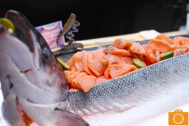 Corniche Salmon Sashimi