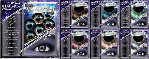 SterlingResin Eyes(02) (group only)