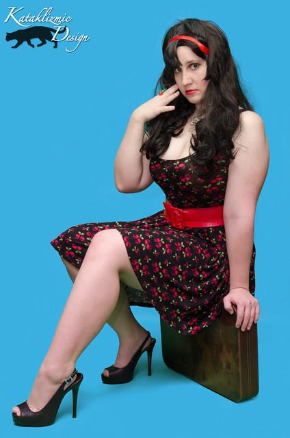 Nicole's Bettie Page Tribute - Model, Cosplayer