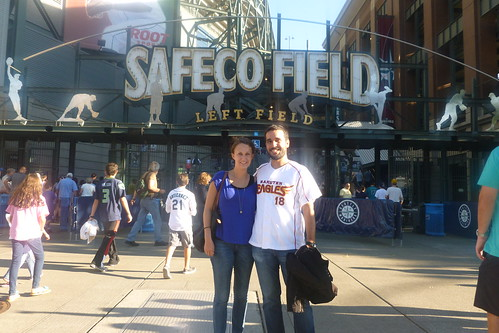 Safeco Field with Katie