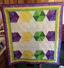 2nd Hexagon Baby Quilt