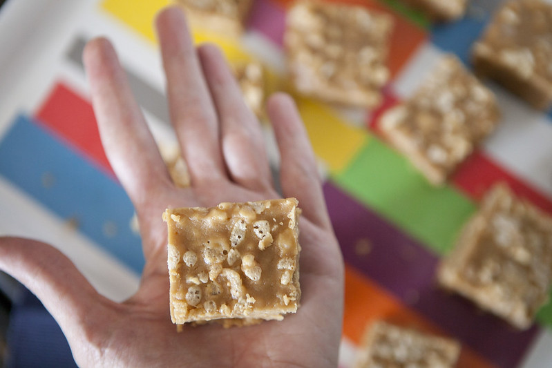 Crispy Peanut Butter FudgeIMG_4438