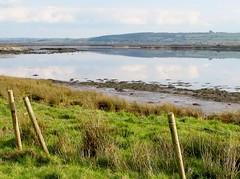 Maine River estuary near Keel Burial Ground, Co Kerry, Ireland
