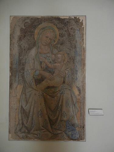 DSCN4772 _ Madonna del teste, Pietro di Giovanni Luscri, c 1435, Palazzo Comunale, Bologna, 18 October