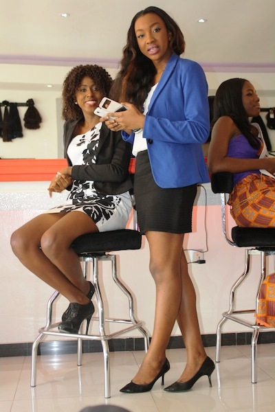 Miss Ghana 2013 winners visit Hair Senta (2)