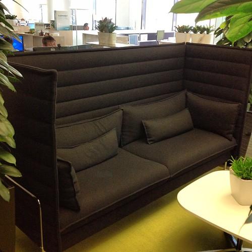 #касперский #москва #moscow #kaspersky шумопоглощающий диван