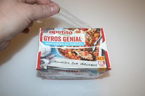 03 - Apetito Gyros Genial - Folie entfernen / Remove foil