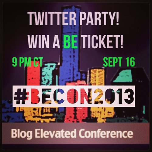 U know U wanna come hang out w/ me this week in #Houston! #becon2013