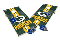 Green Bay Packers Custom Cornhole Boards XL