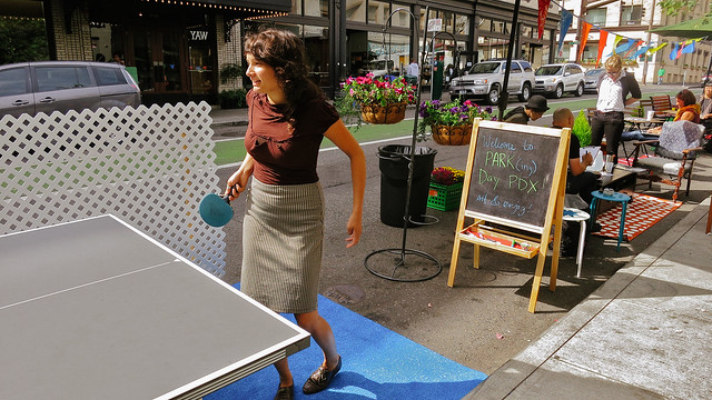 Ping Pong at Stark Plaza