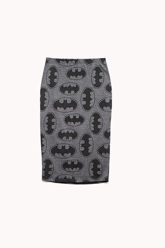 Bats Pencil Skirt Forever 21