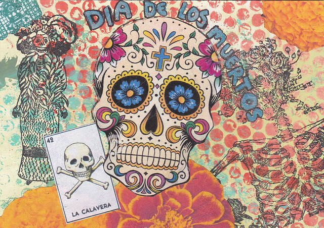 day of the dead post card 1