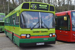 vehicle, transport, mode of transport, public transport, dennis dart, minibus, tour bus service, land vehicle, bus,