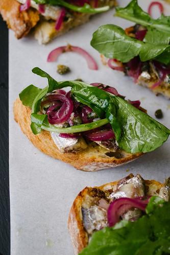 Fancy Tinned Sardines on Toast