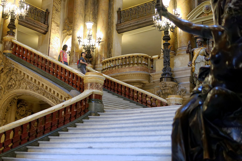 Staircase at the Garnier Opera House