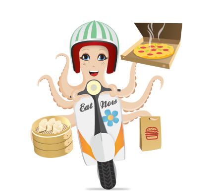 EatNow Octopus