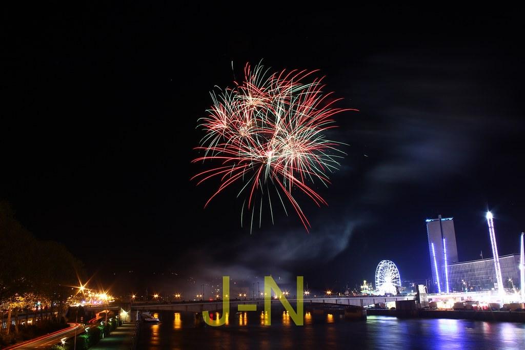 Fireworks at Rouen #10