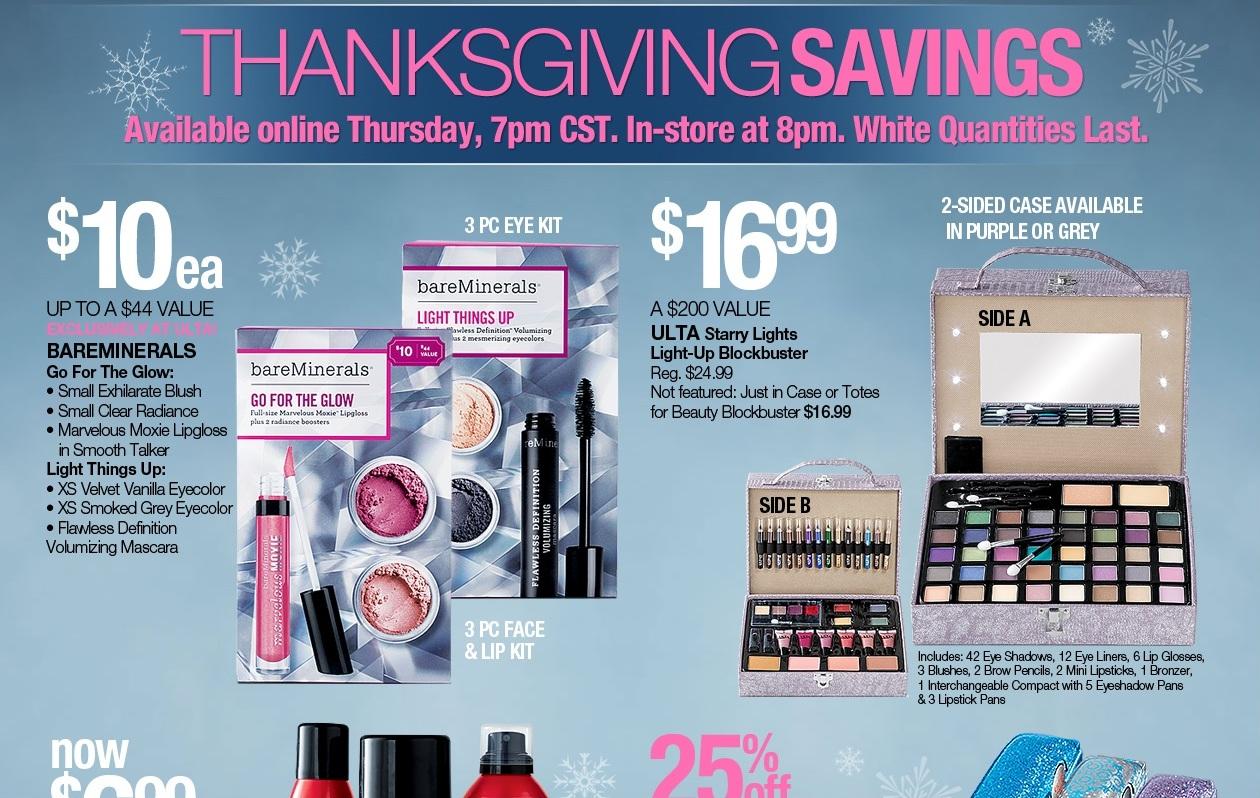 ULTA Thanksgiving Sale 2013