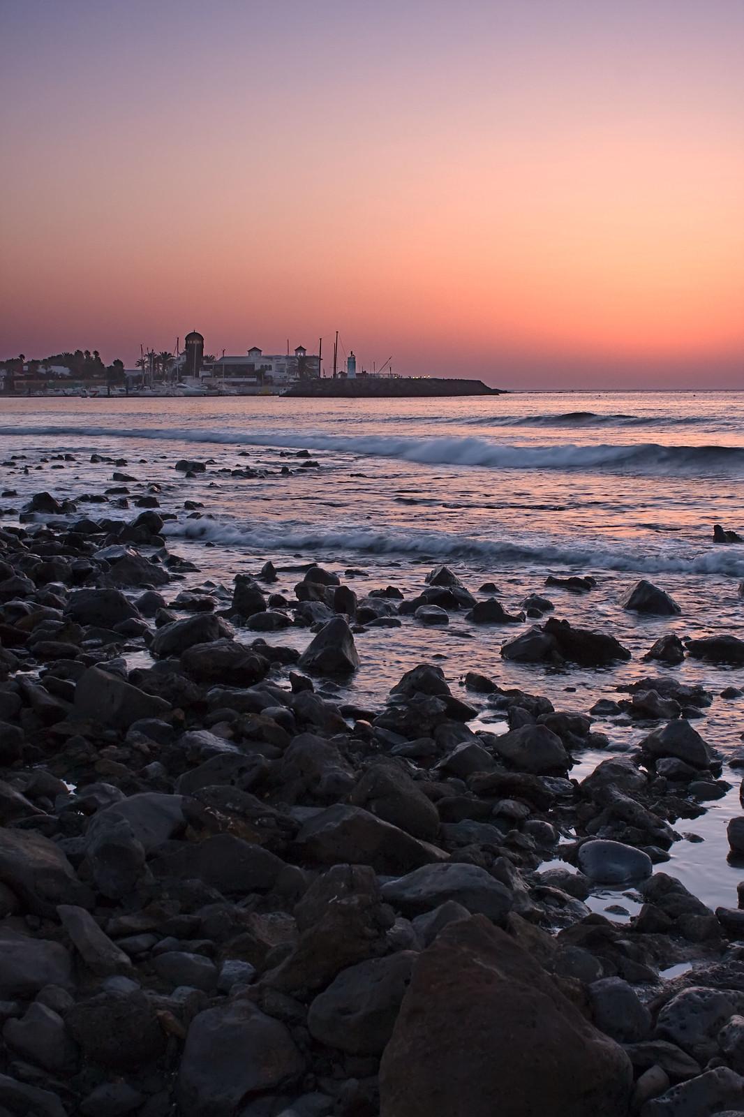 - Amanecer en Caleta de Fuste -  Fuerteventura