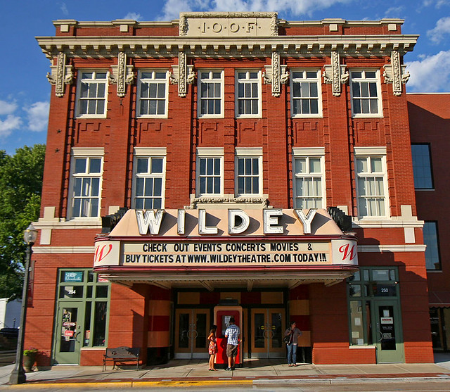 wildey theatre edwardsville illinois flickr photo